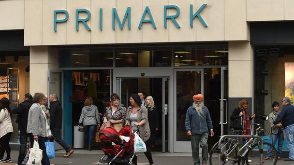 Overall like-for-like sales at Primark fell 1.5% in the half-year (Joe Giddens/PA)