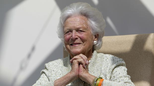 First lady Barbara Bush (Robert F. Bukaty/AP)