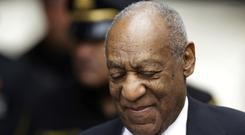 Bill Cosby arrives for his sexual assault trial (Matt Slocum/AP)