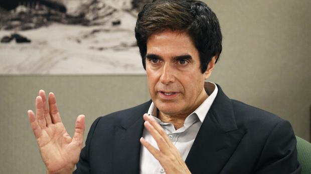 David Copperfield said he did not know of any injuries during his time performing the trick (AP Photo/John Locher)