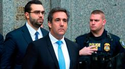Michael Cohen says he will plead the Fifth Amendment (AP Photo/Mary Altaffer, File)