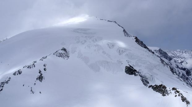The climbers were trying to reach the Vignettes hikers' hut (Kantonspolizei Valais//Keystone via AP)