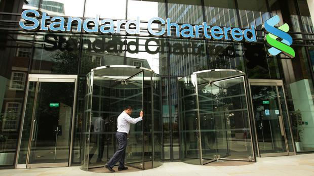 Standard Chartered released its first quarter earnings results on Wednesday (Yui Mok/PA)