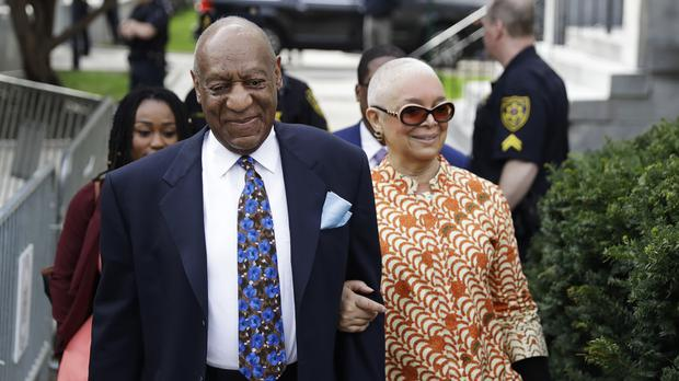 Bill Cosby with his wife, Camille