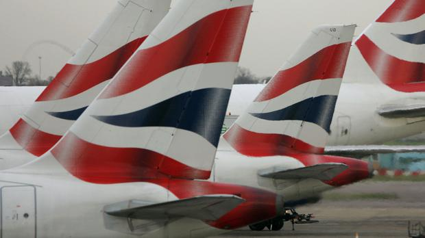 The airline group was one of the top climbers on the FTSE 100 (PA)