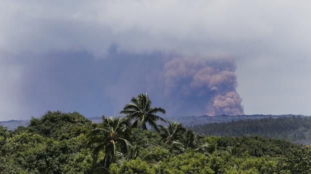 Another large earthquake struck Hawaii's Big Island on Friday (Marco Garcia/AP)