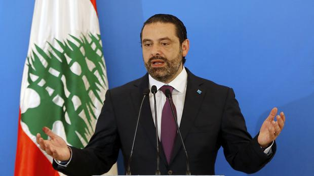 Lebanese Prime Minister Saad Hariri blaming a new electoral law and a performance 'that wasn't up to the standard' for his party's poor election result (Bilal Hussein/AP)
