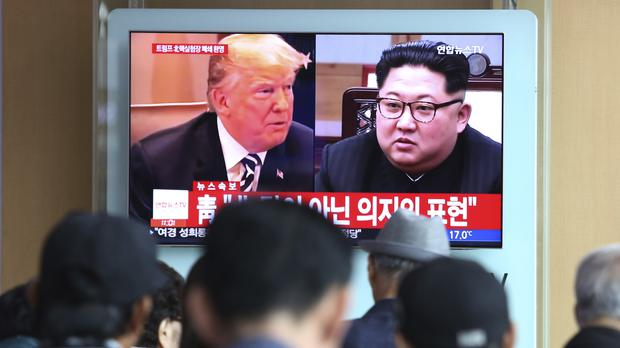 Donald Trump is set to meet Kim Jong Un (Ahn Young-joon/AP)