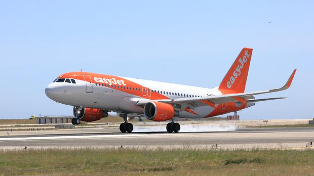 EasyJet losses EasyJet narrowed in the first half of the year after the budget airline enjoyed one of its best winters (EasyJet/PA)