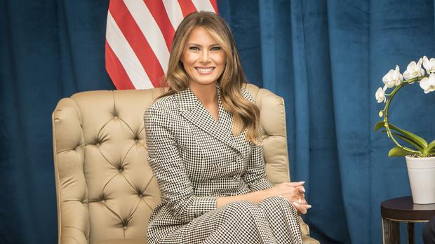 Melania Trump was last seen in public on Wednesday at a White House event (Danny Lawson/PA)