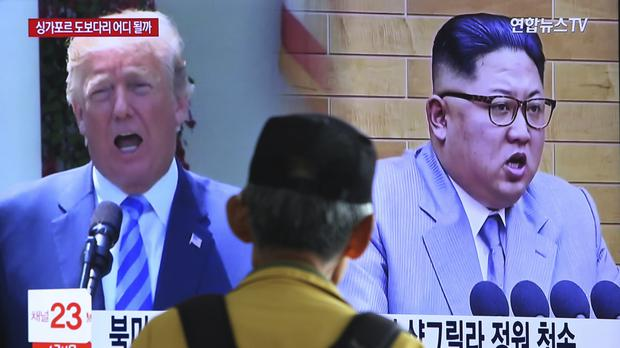 Pyongyang has also cancelled a high-level meeting with South Korea designed to reduce border tensions (Ahn Young-joon/AP)