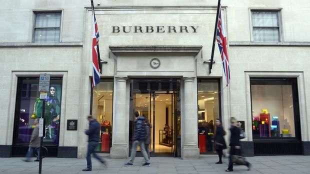 Burberry said its overhaul is starting to bear fruit as it posted higher annual profits despite falling UK sales as the pound's bounce-back dented tourist demand (Jonathan Brady/PA)