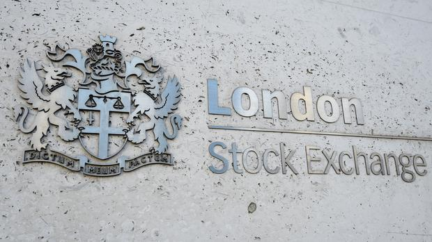 The FTSE 100 closed down 0.3pc for its third straight week of losses (PA)