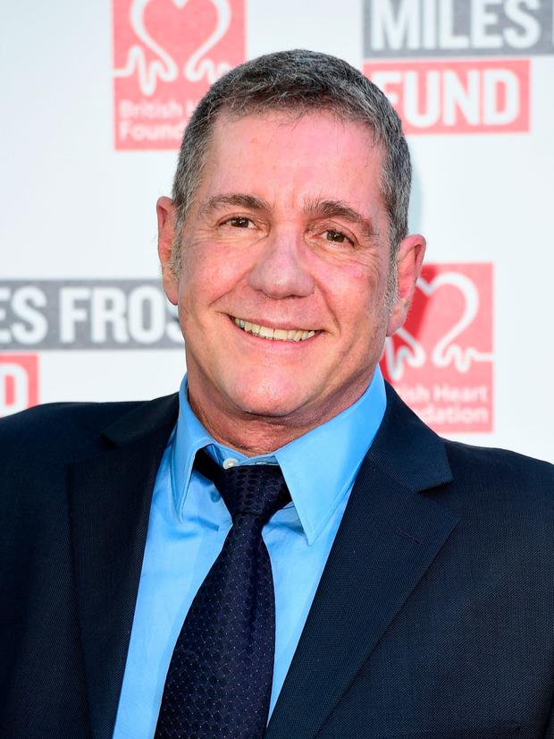 The late Dale Winton.