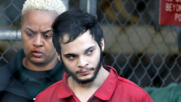Esteban Santiago pleaded guilty in exchange for a life prison sentence (Lynne Sladky/AP)