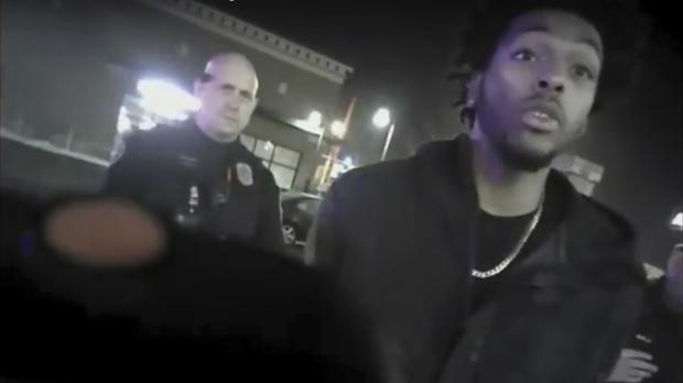 Body-camera footage shows Sterling Brown