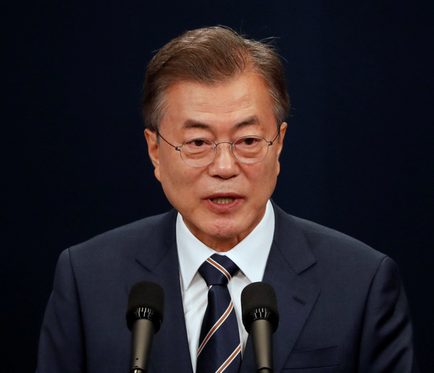 South Korean President Moon Jae-in is happy to keep talking. Photo: Reuters