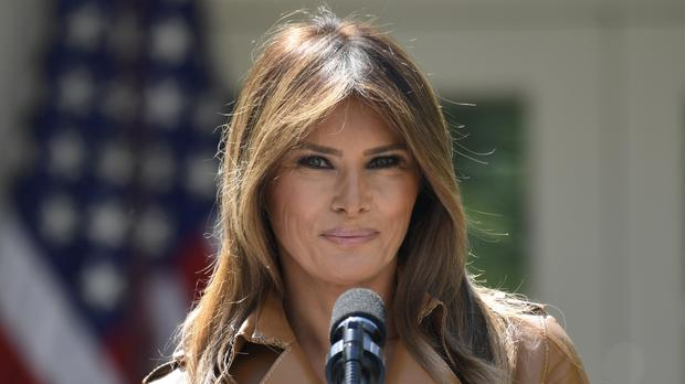 The US first lady has not been seen in public in nearly three weeks (AP)