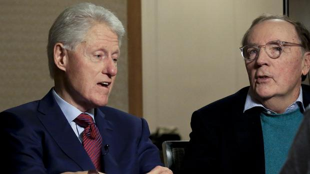 Bill Clinton and author James Patterson (Bebeto Matthews/AP)