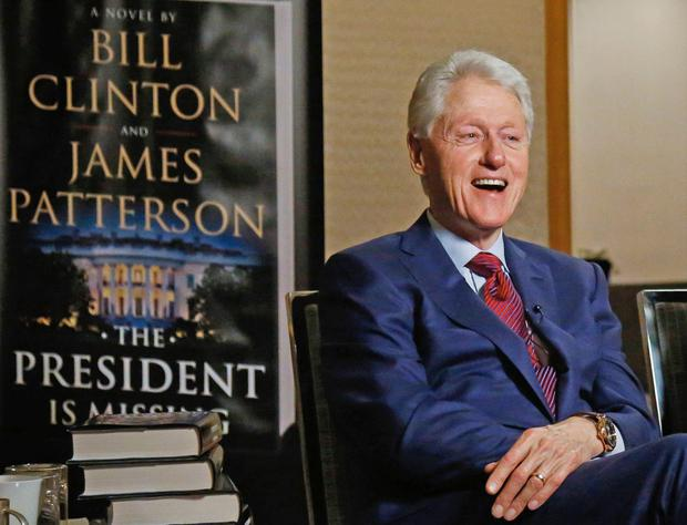 Former US president Clinton. AP Photo