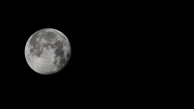 Researchers have found that the effect of the Moon moving away from Earth causes our planet to spin more slowly, lengthening the day. Photo: PA