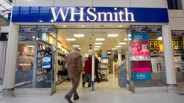 WH Smith issued a trading update on Wednesday (Philip Toscano/PA)