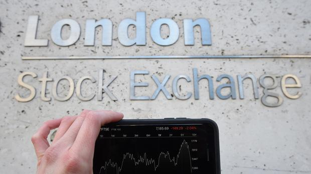 The FTSE 100 edged up on Wednesday (PA)