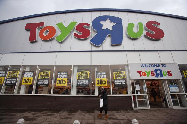 Yvolve Sports Limited sought court protection due to the bankruptcy of a major customer, Toys R Us,. Photo: PA