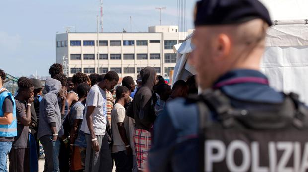 Italy has so far refused to take migrants from the private rescue ship (Marco Costantino/AP)