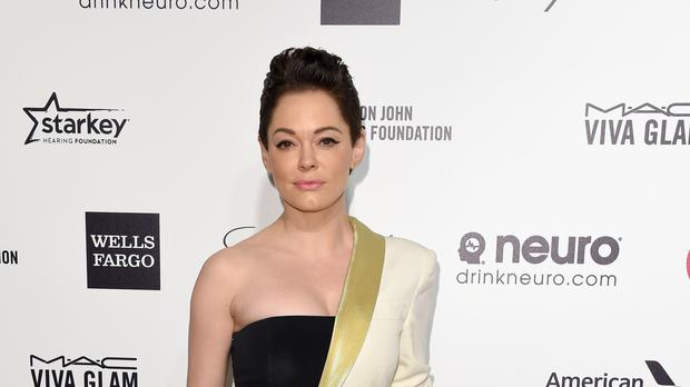Rose McGowan has been indicted over cocaine possession (PA)