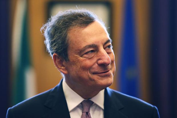 Mario Draghi (Brian Lawless/PA)