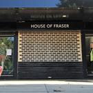 House of Fraser is expected to close 31 stores (PA)