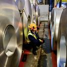Targets include steel, agricultural and other products (Ben Birchall/PA)