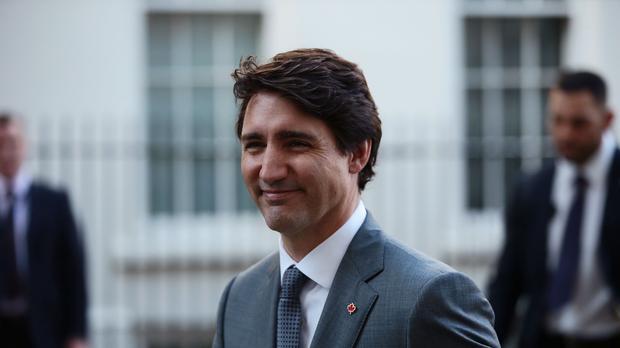 Justin Trudeau said cannabis would be legal on October 17 (Jack Taylor/PA)