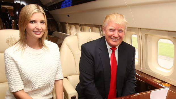 Donald Trump with daughter Ivanka (PA)