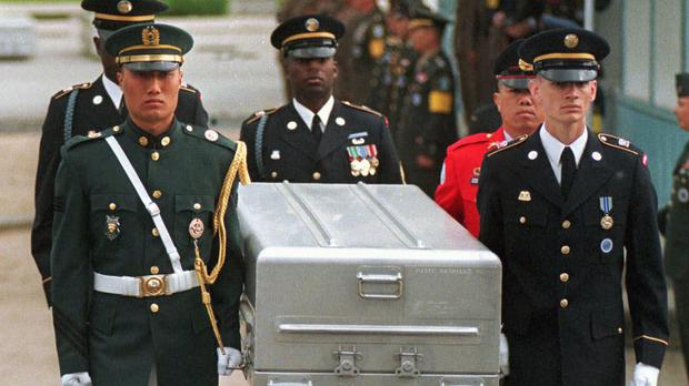 US to send caskets to North Korea to return war remains - Independent ie