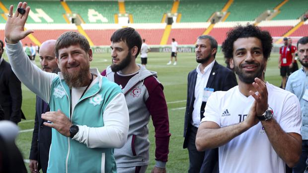 674b9d08e Egypt football star Mohamed Salah given honorary citizenship by ...