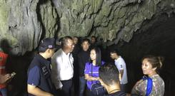 A group of boys went missing in Chiang Rai (AP)