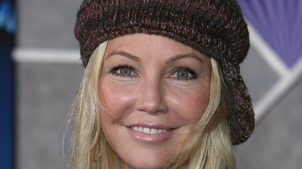 Heather Locklear has been arrested on two suspected counts of battery (Ian West/PA)