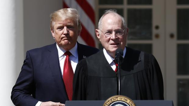 President Donald Trump will appoint a replacement for Supreme Court Justice Anthony Kennedy (Carolyn Kaster/AP)