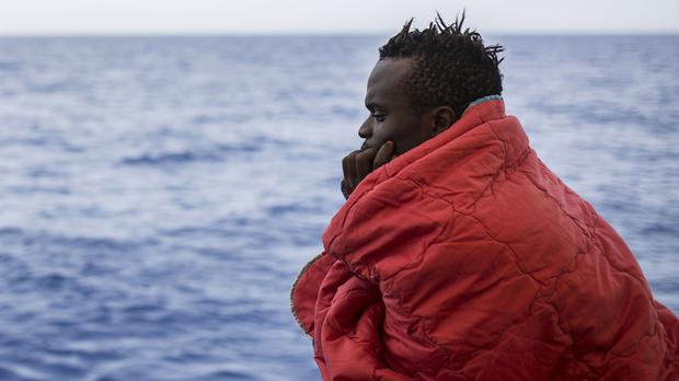 8732c46370eb The Open Arms has rescued 60 migrants in the Med (AP Photo Olmo Calvo