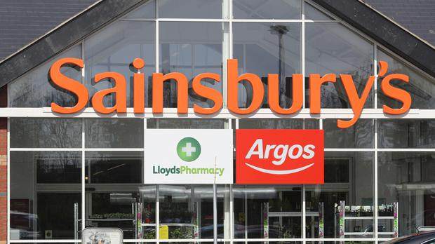 Sainsbury's will report on first quarter trading next week (Owen Humphreys/PA)