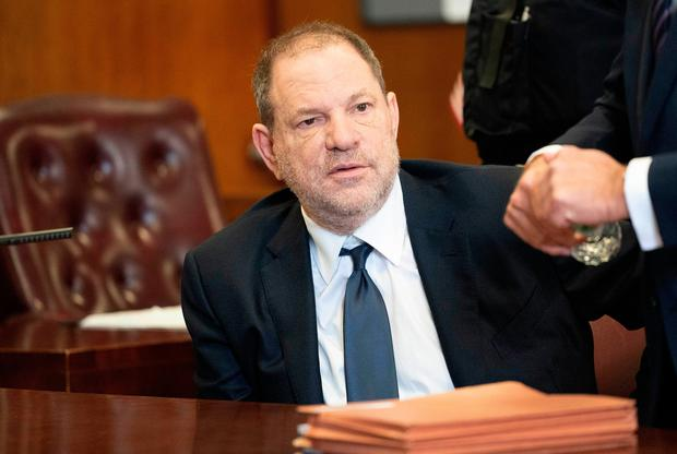 Harvey Weinstein is accused of assaulting a third woman