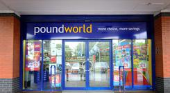 Poundworld went into administration in June (PA)