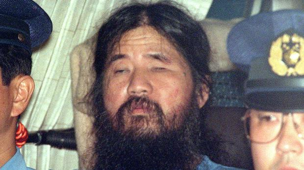 Japanese doomsday cult leader Shoko Asahara who has been executed (AP)