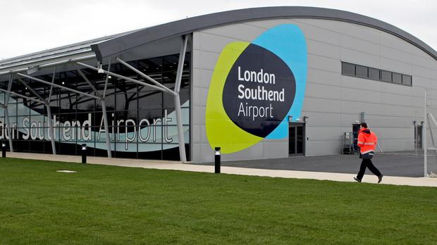 The terminal building at London Southend Airport (Chris Radburn/PA)
