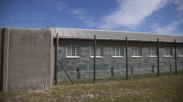 The prison on Robben Island, South Africa, where Nelson Mandela spent 18 years (Carolyn Kaster/AP)