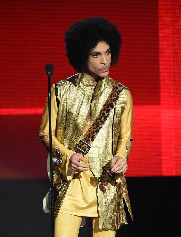 Prince pictured in 2015