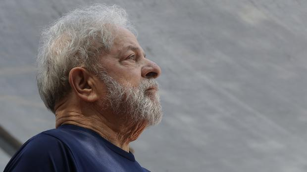 The former Brazilian president has now been ordered to to remain in jail (Andre Penner/AP)