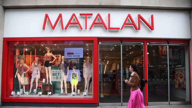 Matalan grew its sales in the first quarter (Yui Mok/PA)